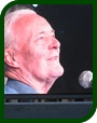 Tony Benn speaks at an anti-war rally, 2006