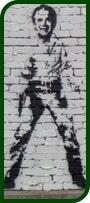 George W. Bush stencil
